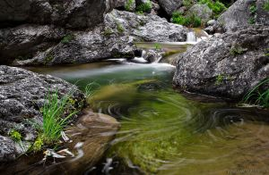 Water Swirls by ~photogrifos