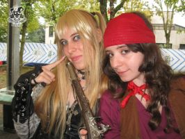 Elaine and Misa II by MiracoliCosplay