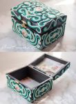 handmade jewelry box by AmeKamura