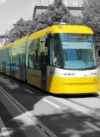 The Yellow Tram by LAckas