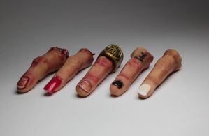 Collection of severed fingers by suzannewolf