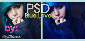 Blue Love PSD by ForeverYoung320
