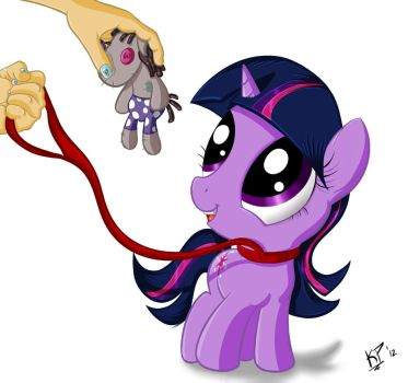 Filly Twilight and Smartypants by KinkiePied