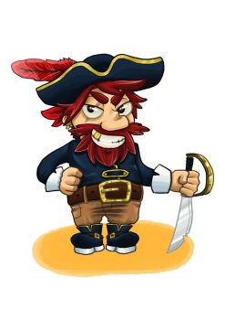 CHARACTER DESIGN CHALLENGE :: Pirate by Clampy-TFA