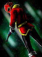 Gokai Red by J-Garou