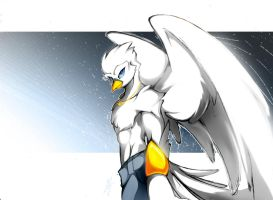 THE LIGHT OF A DOVE by WhiteFox89