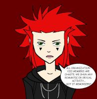 Axel kills fangirls by Disneyfreak007
