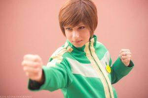 P4 Chie: Ready To Go by XwinterXsilenceX