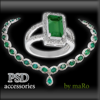 psd accessories by miralkhan