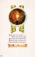 X-mas Candle Greeting by SolStock