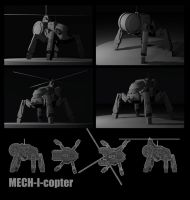 Mech-i-copter by Talfox