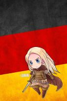 Hetalia iWallpapers - Germania by Dreamweaver38