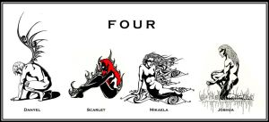 FOUR completed series by syccas