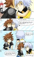 Sora Hugs Denied: 3Ds by TouchMySitar