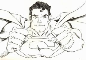 Superman Inked by Erica-Danes