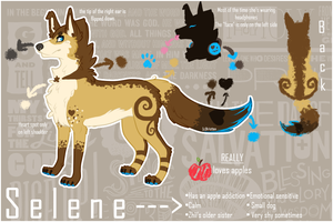 Selene reference sheet 2013 [Fursona] by Kristten
