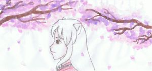 Hanyou and the Cherry Blossoms by death2normality