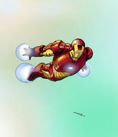 Ironman - Ipad practice by NimeshMorarji