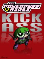 Hit-Girl - Green by thesometimers