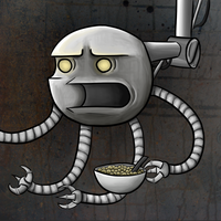 Cereal Robot by Cpt-ExtremeKiwi
