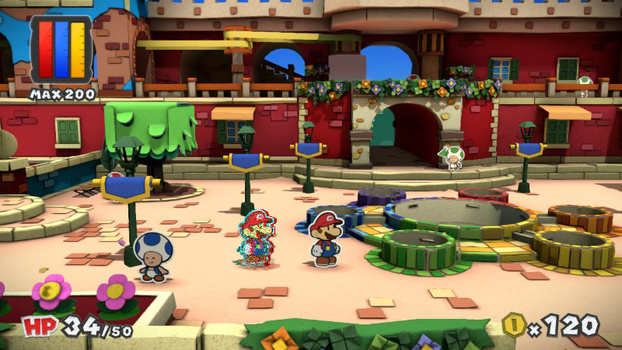 Paper Mario Color Splash Glitch by Creepypasta81691
