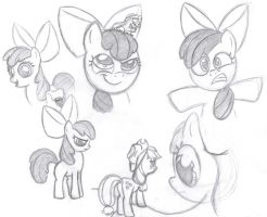 Apple Bloom Expressions 1 by rmsaun98722