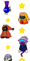 TV Stickers Star Batch by Lexial-XIII