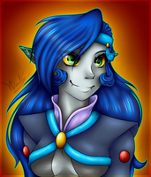 Middy portrait by Luifex