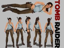 Tomb Raider a survivor is born outfit remake by incufan120