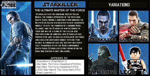 The Crossover Game: Starkiller Bio by LeeHatake93