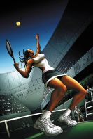 Tennis by JPRart