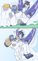 TFA - You may carry off the...groom? by Rosey-Raven