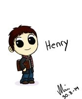 Once Upon a Time Chibified: Henry by NurseRozetta95
