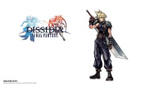 Dissidia Final Fantasy - Cloud Strife by Hynotama