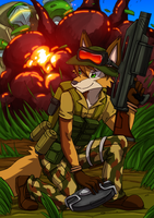 7th Foxtrot Ranger by kitfox-crimson