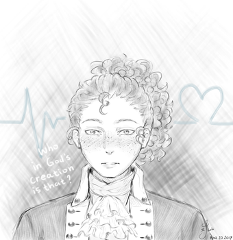 I must know your name! [Hamilton- John Laurens] by Six-0-6