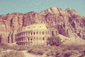 Colosseo Canyon by TigerArtStudio