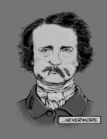 Mustache of Poe by tolagunestro