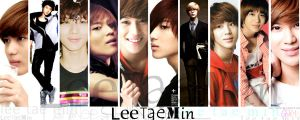 Taemin Mash-up Wallpaper by SherinaHime