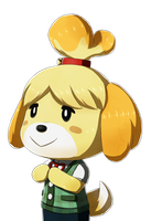 Isabelle - Fire Emblem Fates Styled by RingoAndou