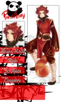 PandArmy- Shura Keith - Clan Rojo by Blue-Crocodile