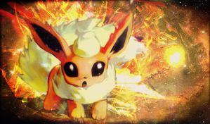 Flareon Playmat by Souldias