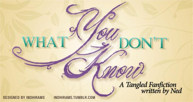 Cover FANFIC DESIGN: What You Don't Know. by indhi
