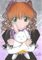 .::Doll-And-Rabit::. by Nereichi