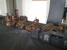 Imperial guard  astra militarum game 2 by skincoffin