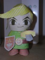 Link Papercraft by Tiffyx