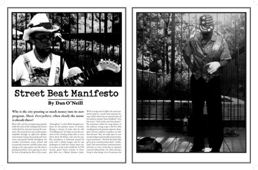 street beat first spread by dippydelve13