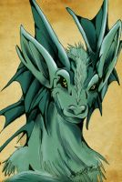 Colored Dragon by Benalene