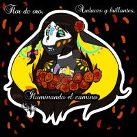 Sonreir Catrina by Inkblot-Rabbit