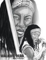 The Walking Dead: Michonne by DarkGX